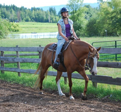 Barhuf unterwegs – 9 Fragen an: Nina und ihre Tennessee Walking Horses